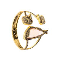 Camila Klein Bracelete Com Aplicações - Metálico