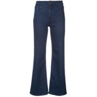 Eve Denim Calça Jeans Flare Cintura Alta - Azul