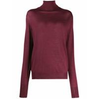Ma'ry'ya Roll Neck Sweater - Vermelho