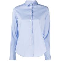 Aspesi Camisa Mangas Longas Slim - Azul