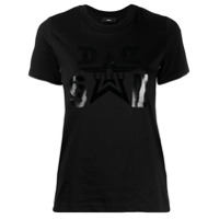 Diesel Camiseta Com Estampa Gráfica - Preto