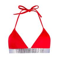Calvin Klein Underwear Sutiã De Biquíni Com Logo - Vermelho
