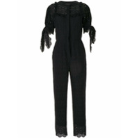 Sir. Amelie Embroidered Jumpsuit - Preto