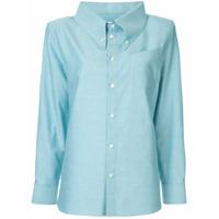 Facetasm Oversized Collar Shirt - Azul