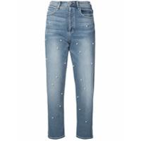 Mcguire Denim Calça Jeans 'oh You Fancy' Com Esferas Peroladas - Azul
