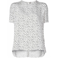Adam Lippes All-Over Print T-Shirt - Branco