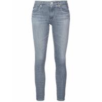 Ag Jeans Calça Jeans Legging Ankle - Cinza
