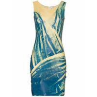 Maisie Wilen Vestido Com Estampa Gráfica After Hours - Azul
