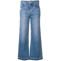 Victoria Victoria Beckham Calça Jeans Com Listras - Azul