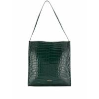 Frenzlauer Crocodile Effect Tote Bag - Verde