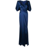 Talbot Runhof Vestido Socotra - Azul