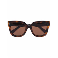 Chimi Óculos De Sol Tartaruga Quadrado - Marrom