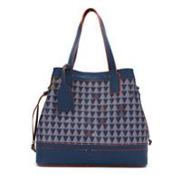 Schutz Bolsa Shopping 'triangulo Games' - Azul