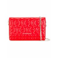 Givenchy Bolsa De Couro Transversal - Vermelho