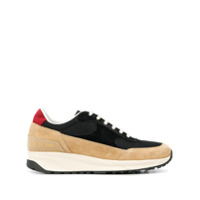 Common Projects Track Colour-Block Sneakers - Preto