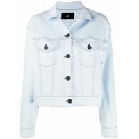 3X1 Jaqueta Jeans Com Efeito Desbotado - Azul
