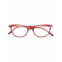 Oliver Peoples Armação De Óculos 'gracette' - Vermelho