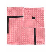 Givenchy Echarpe Com Estampa 4G - Vermelho