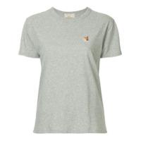 Maison Kitsuné Fox Patch T-Shirt - Cinza