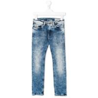 Diesel Kids Calça Jeans Skinny - Azul