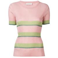 L'autre Chose Camiseta Slim De Lurex - Rosa