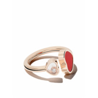 Chopard Anel 'happy Hearts' De Ouro Rosê 18K - Rose Gold