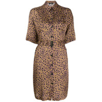 Ps Paul Smith Chemise Animal Print - Marrom