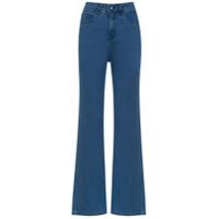 A.brand Calça Jeans Flare - Azul