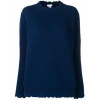 Avant Toi Suéter Decote Careca - Azul