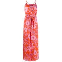Guardaroba Floral Print Jumpsuit - Laranja
