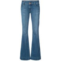 J Brand Calça Jeans Flare - Azul