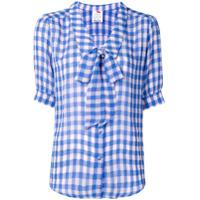 Ultràchic Blusa Xadrez Vichy - Azul