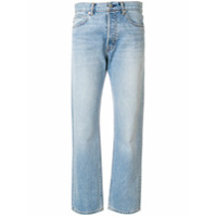 Helmut Lang Calça Jeans Reta - Azul