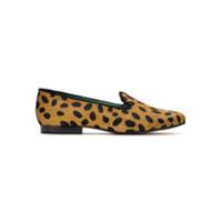 Blue Bird Shoes Loafer 'onça Dots' Pelo - Marrom