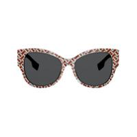 Burberry Eyewear Óculos De Sol Gatinho - Neutro