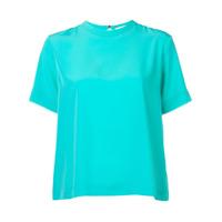 Mira Mikati Camiseta Com Detalhe De Fita - Azul