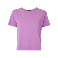 Bo.bô T-Shirt Com Recortes Vazados - Roxo
