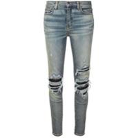 Amiri Calça Jeans Skinny Desgastada - Azul