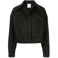 Acler Jaqueta Cropped 'collins' - Preto