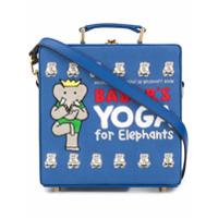 Olympia Le-Tan Bolsa 'babar's Yoga For Elephants' - Azul