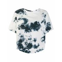 Suzusan Camiseta Tie Dye - Branco