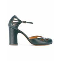 Chie Mihara Sapato De Couro - Verde