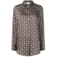 Mulberry Circle Patterned Shirt - Marrom