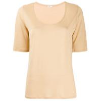 Filippa-K Camiseta Decote Em U - Neutro