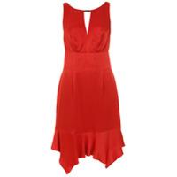 Tufi Duek Vestido Curto Com Recortes - Vermelho