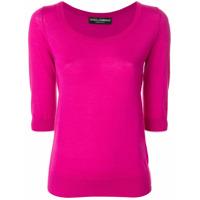 Dolce & Gabbana Blusa De Tricot - Rosa