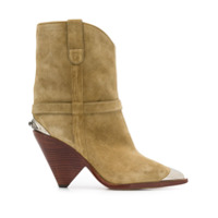 Isabel Marant Pointed-Toe Ankle Boots - Neutro
