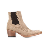 Alberto Fasciani Ankle Boot Western - Neutro
