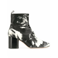Paul Smith Printed Moss Ankle Boots - Preto