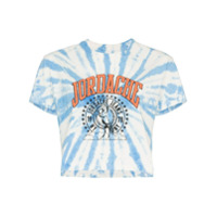 Jordache Camiseta Cropped Tie Dye - Blue